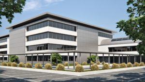 render esterni edificio commerciale 3dcomotion