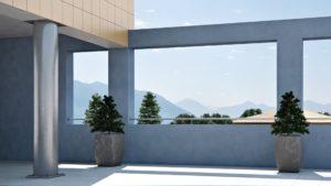 render esterni terrazza 3dcomotion