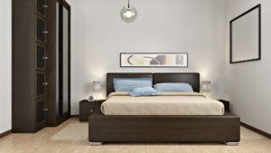 render interni camera da letto esposizione 3dcomotion